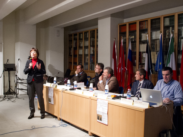 4_saluti istituzionali ferrarini_convegno L'italia in trincea_22-11-14