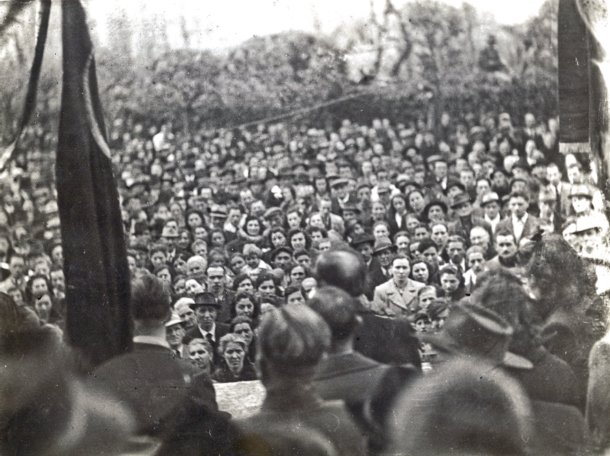 Guglielmo Ghislandi  manifestazione