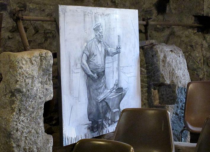 02_inaugurazione mostra Bruno Zoppetti Museo Le Fudine Malegno 30 Aprile