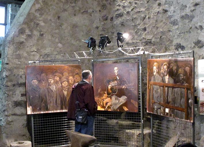 10_inaugurazione mostra Bruno Zoppetti Museo Le Fudine Malegno 30 Aprile