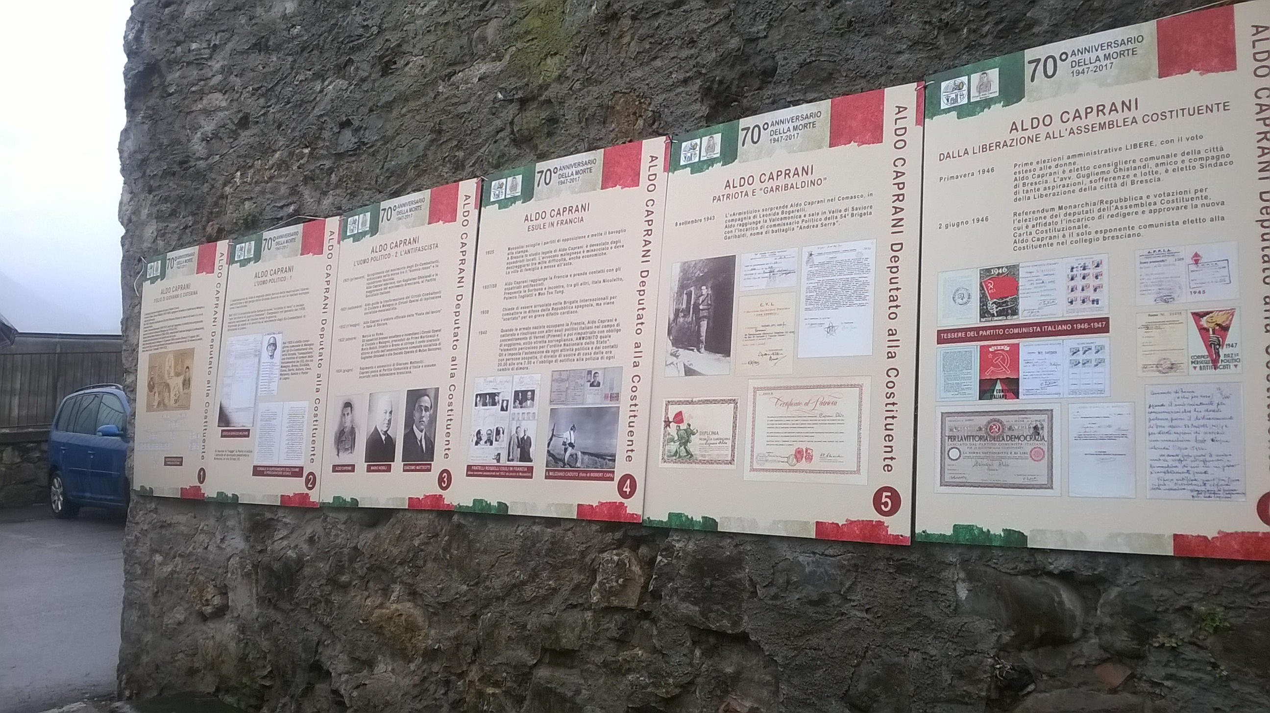 3_visita guidata alla villa Nobili e inaugurazione Mostra Aldo Caprani lunedì 1° maggio 2017