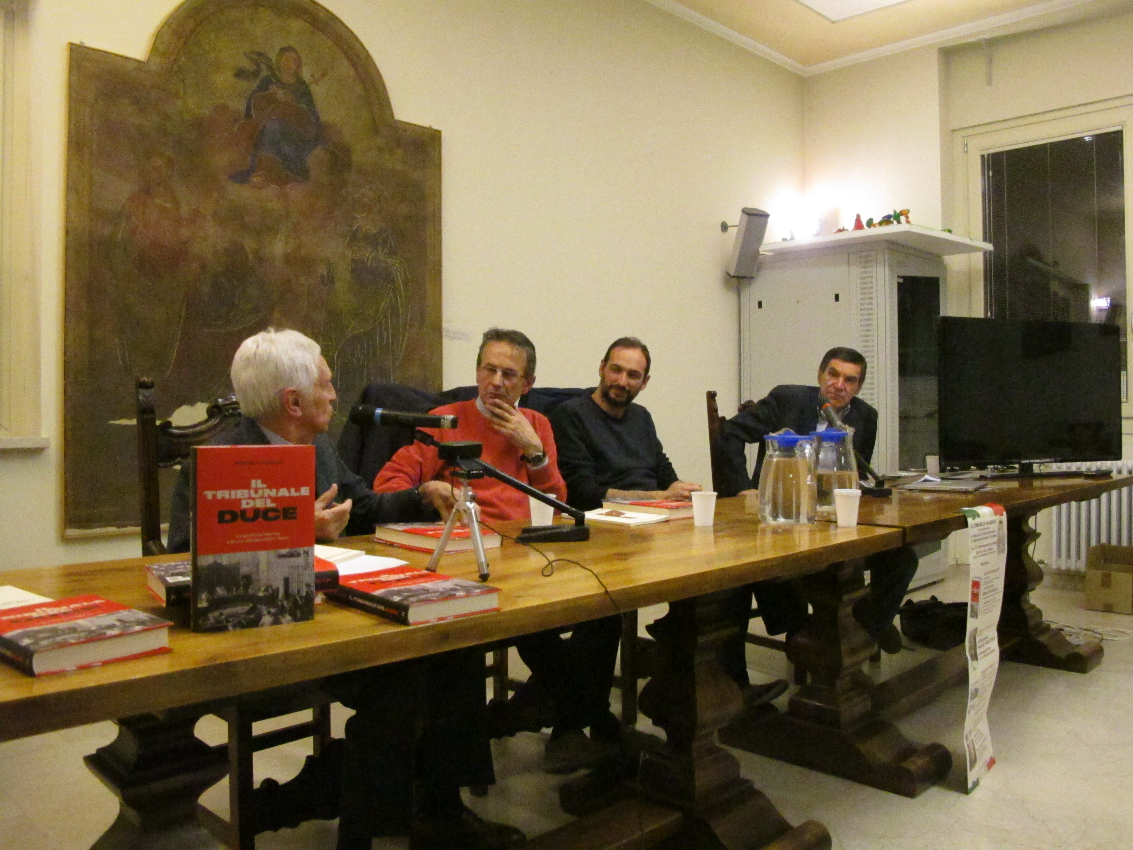 14_presentazione Il tribunale del Duce di Mimmo Franzinelli_20 aprile 2017 a Malegno