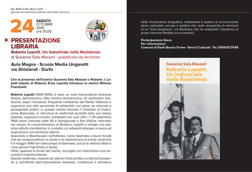 presentazione libraria Lepetit _24 ottobre