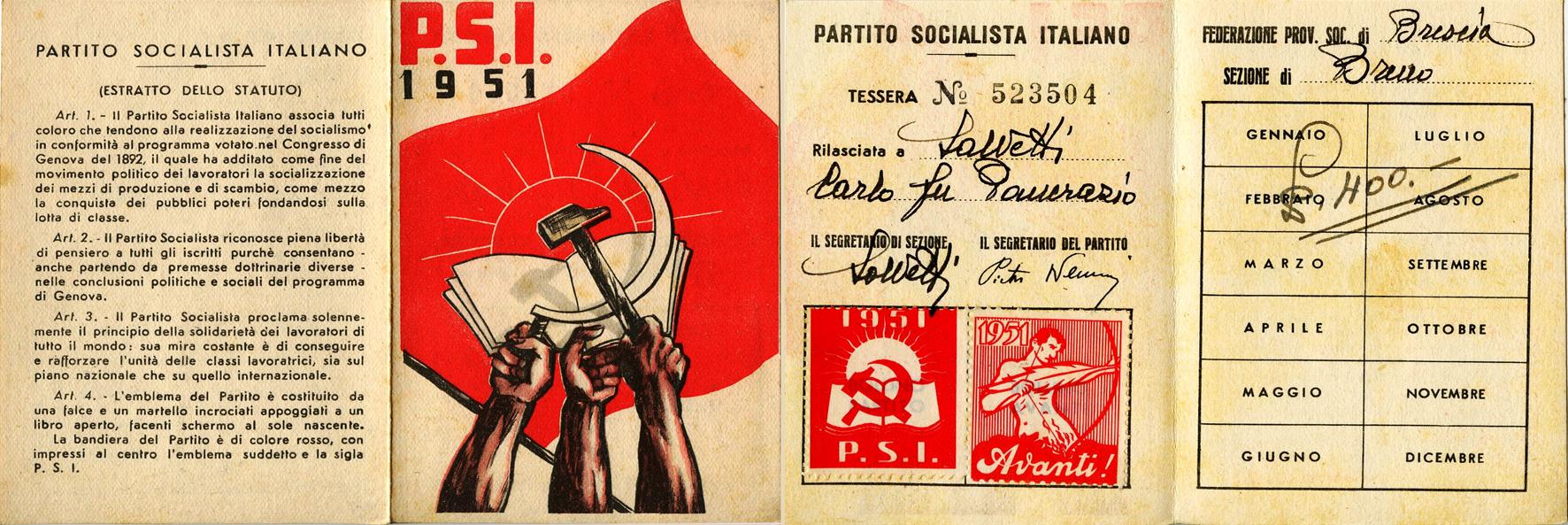 tessera 1951