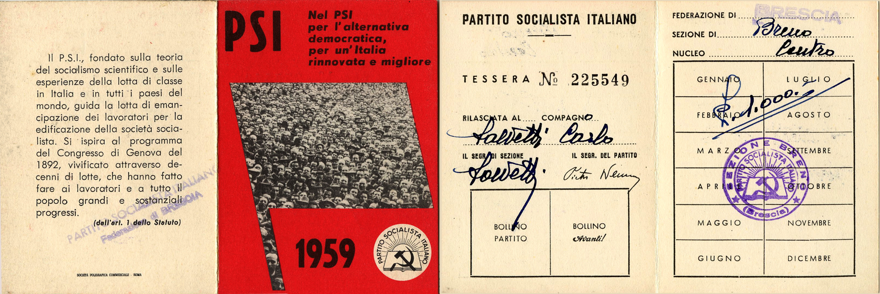 tessera 1959