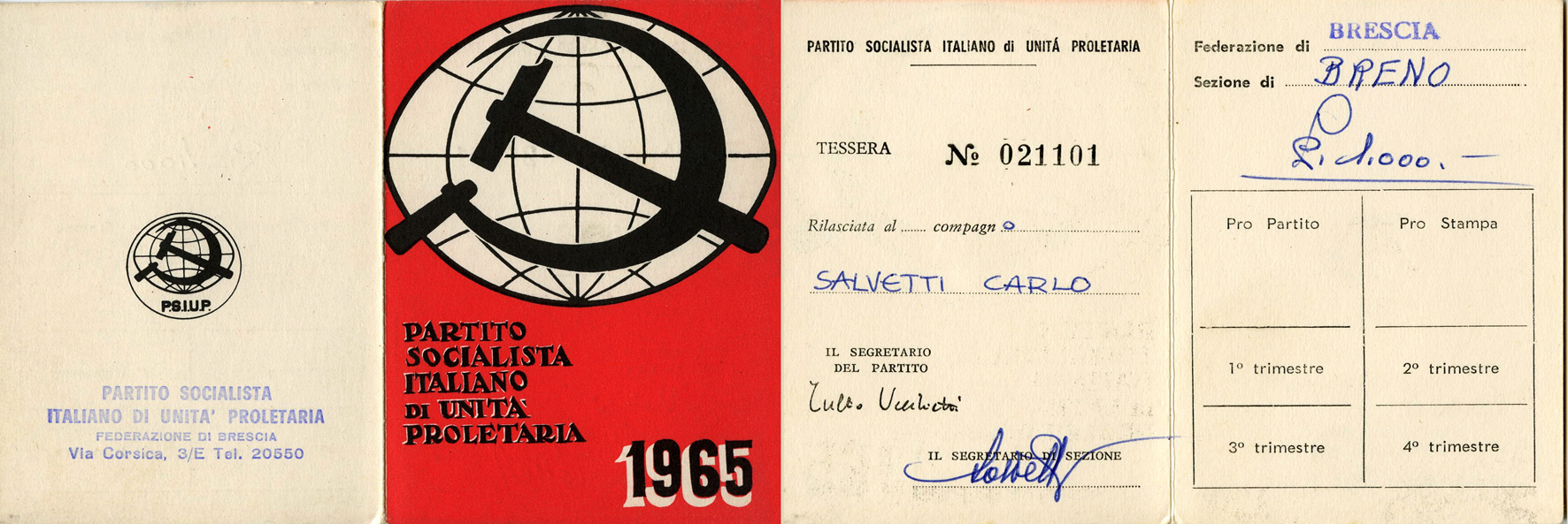 tessera 1965