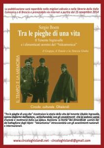 volantino l'italia in trincea_ retro 15x21
