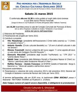 promemoria assemblea sociale circolo culturale Ghislandi 21-03-2015