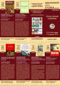 brochure appuntamenti con la storia maggio-giugno 2016