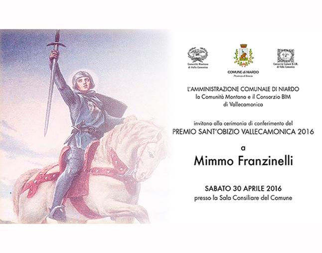 Invito cerimonia premio S.Obizio 2016 sabato 30 aprile