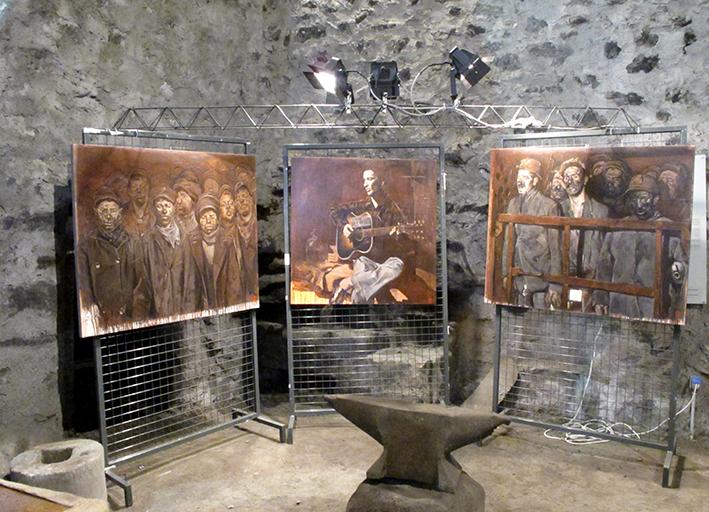 01_inaugurazione mostra Bruno Zoppetti Museo Le Fudine Malegno 30 Aprile