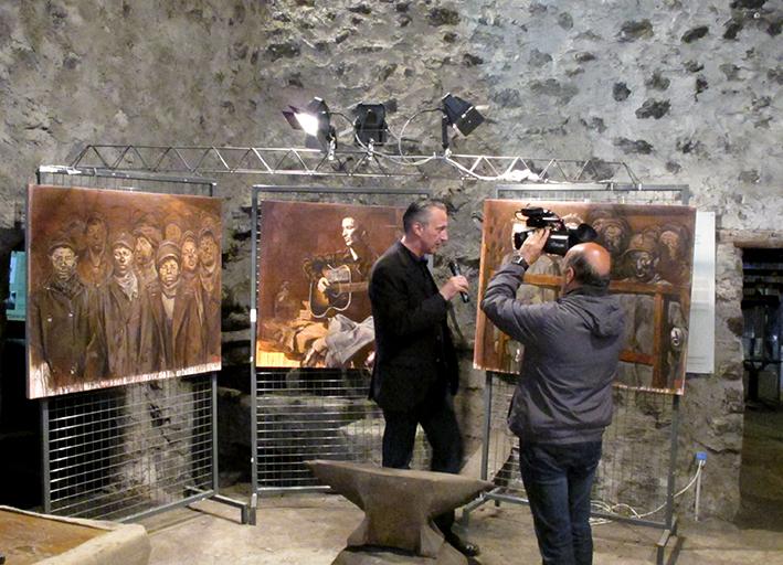 12_inaugurazione mostra Bruno Zoppetti Museo Le Fudine Malegno 30 Aprile