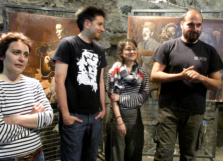 14_inaugurazione mostra Bruno Zoppetti Museo Le Fudine Malegno 30 Aprile