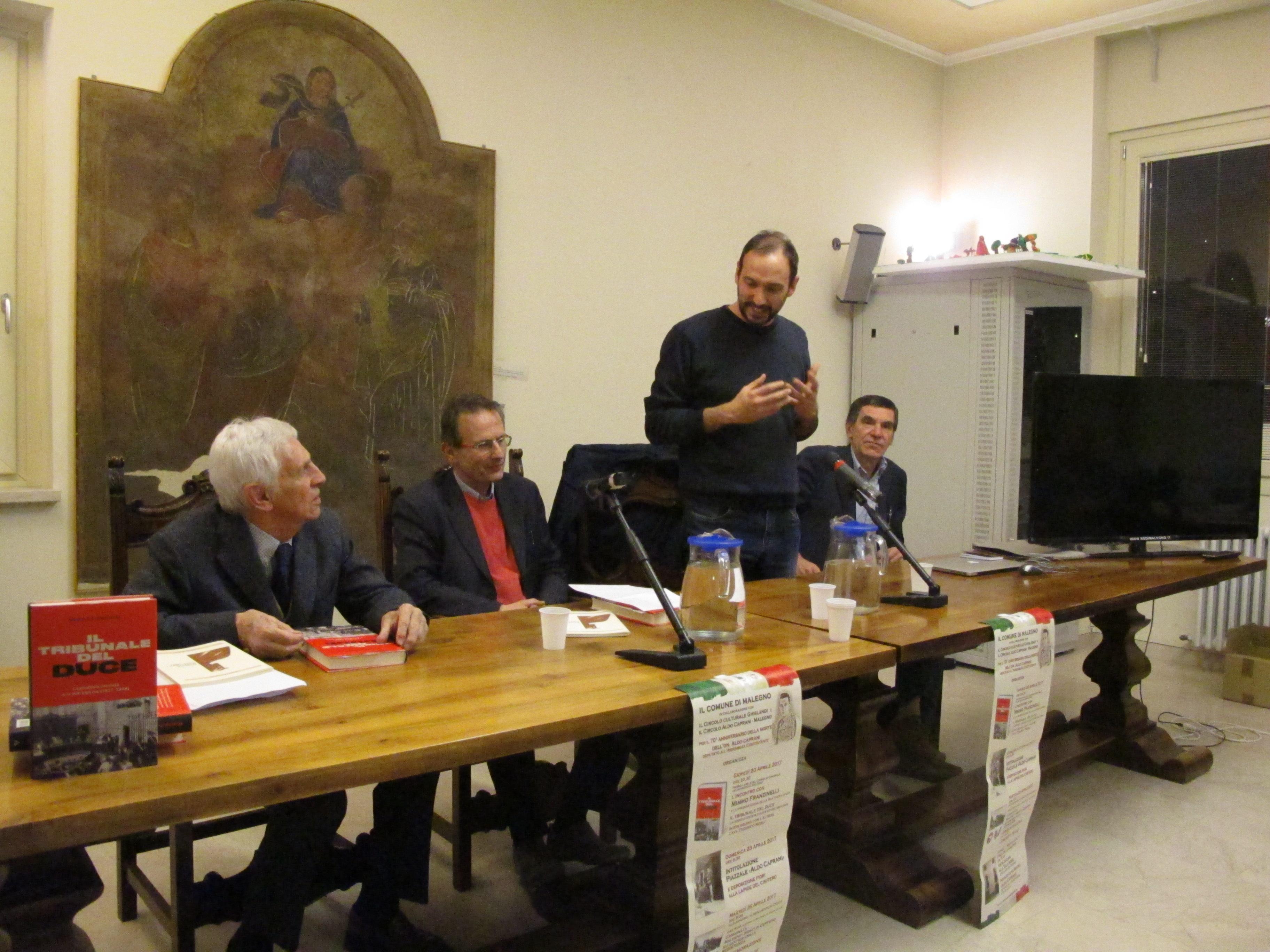 02_presentazione Il tribunale del Duce di Mimmo Franzinelli_20 aprile 2017 a Malegno