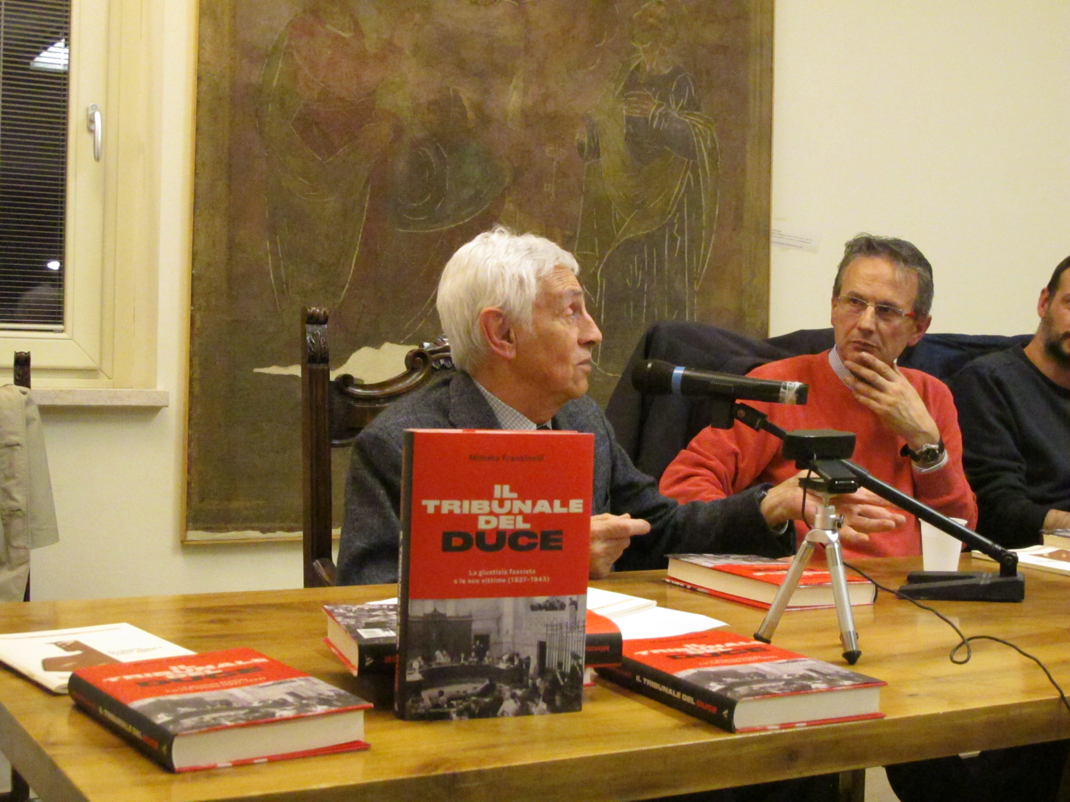 15_presentazione Il tribunale del Duce di Mimmo Franzinelli_20 aprile 2017 a Malegno