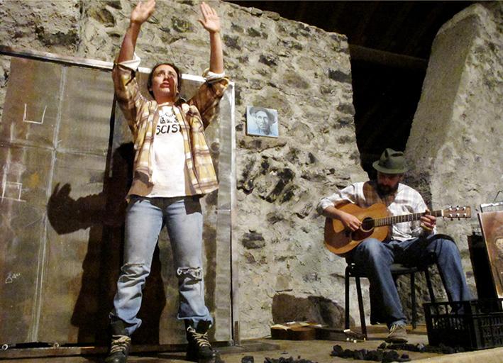 13_Spettacolo teatrale TALKIN' WOODY GUTHRIE Malegno 30 Aprile