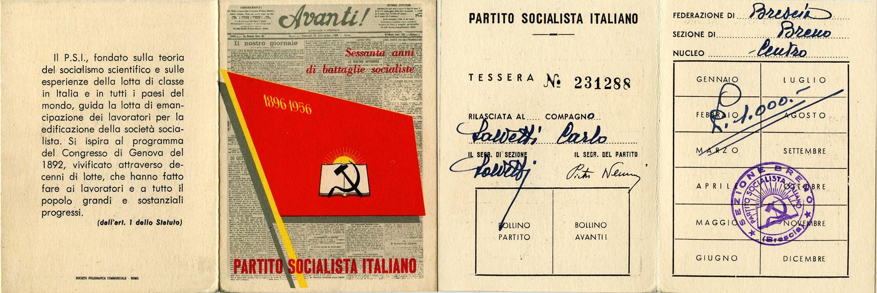 tessera 1956