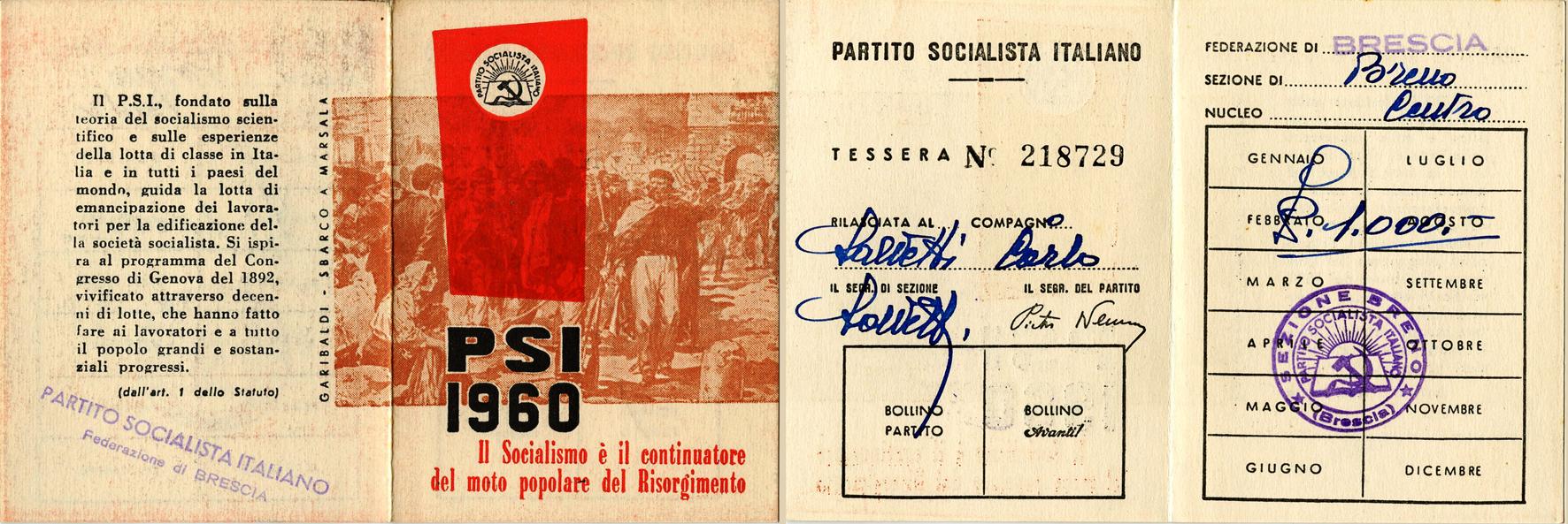 tessera 1960