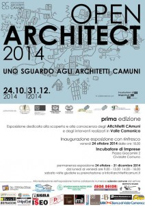mostra OPEN ARCHITECT  2014