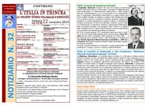 notiziario n. 32 Circolo Ghislandi_ novembre  2014_pag 1-4_sito