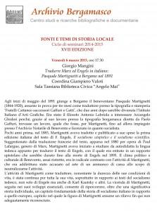 Tradurre Marx ed Engels in italiano