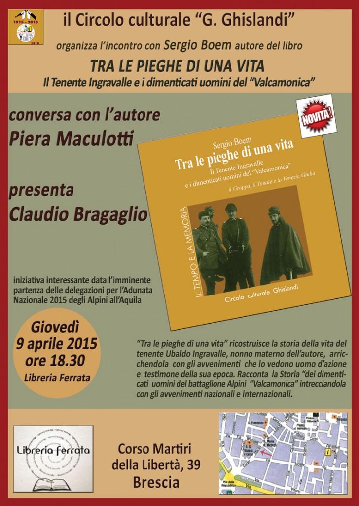 presentazione libreria ferrata a Brescia Sergio Boem_web