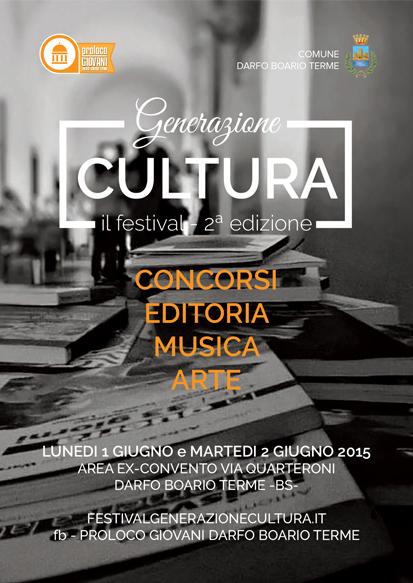 festival generazione cultura 1-2 giugno