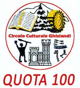 CIRCOLO GHISLANDI QUOTA 100