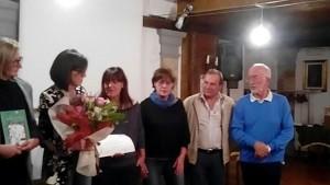 Consegna del premio Mosca a Smerillo
