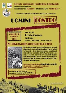 LOCANDINA PRESENTAZIONE LIBRARIE OTTOBRE 2015_malegno