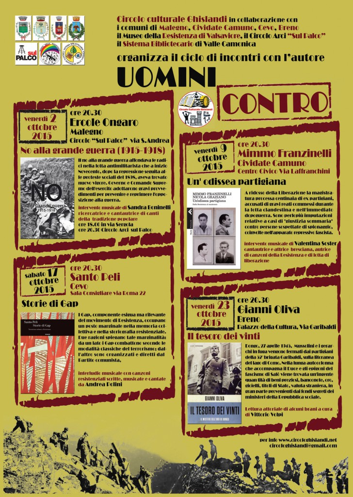 locandina presentazioni librarie ottobre 2015