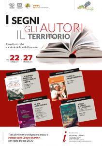 Locandina incontri Palazzo della cultura Breno aprile-maggio 2016
